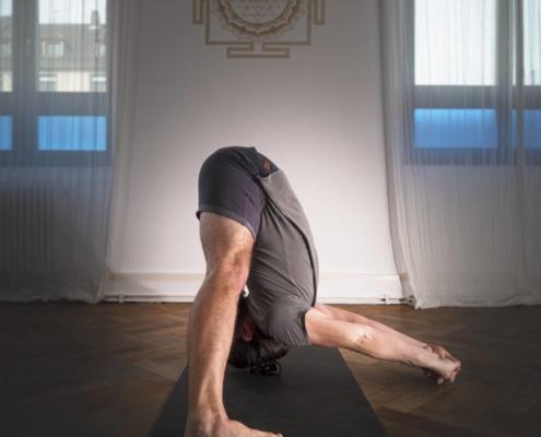 Ashtanga Yoga Asana Demonstration Prasarita Padottanasana C
