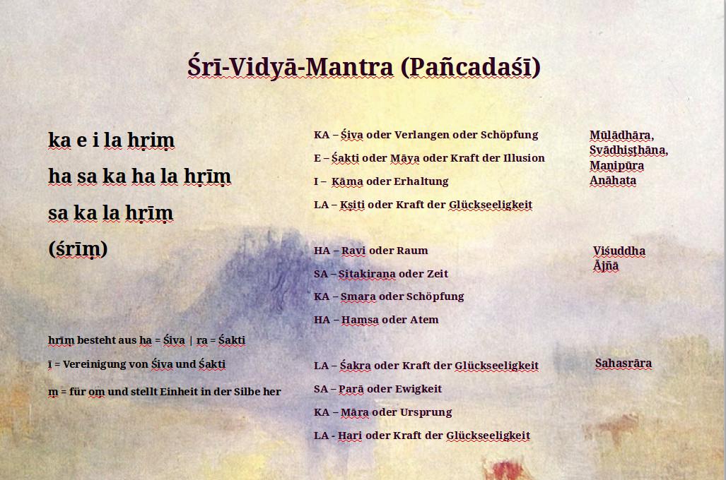 Shri-Vidya-Mantra