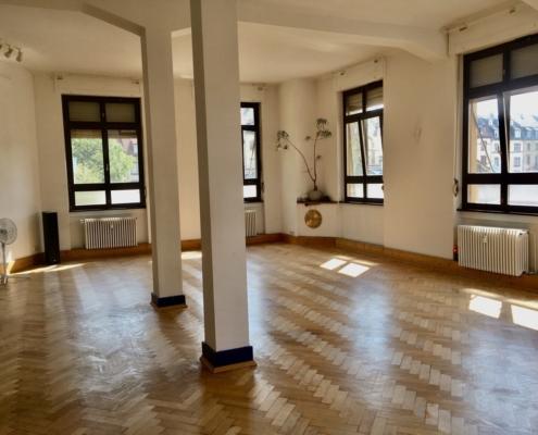 Demonstration Yoga Raum Ashtanga Yoga Institut Heidelberg