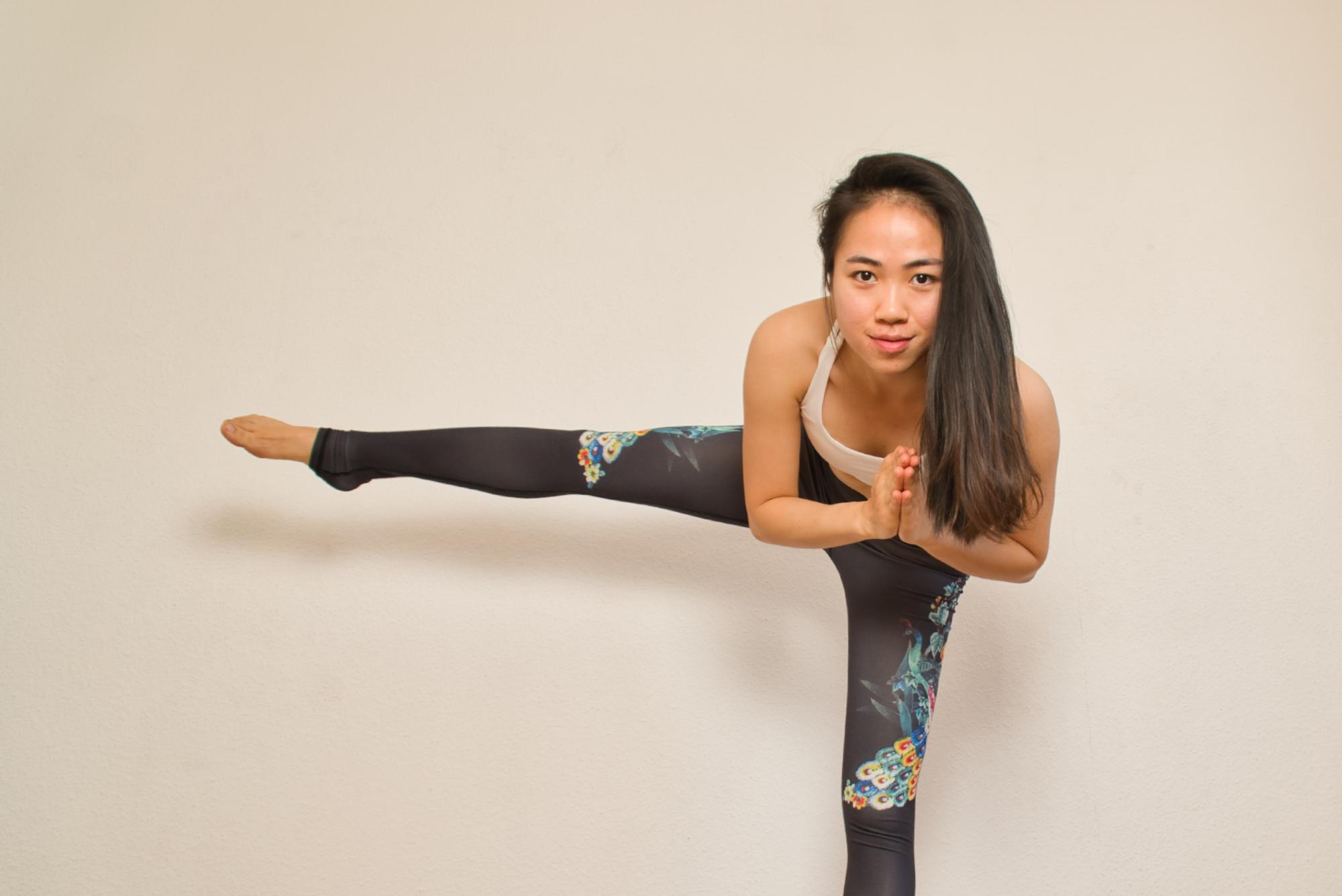 Gemma Portrait Yoga Demonstration 3